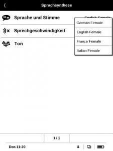 KonfigurationSprachsyntheseSpracheUndStimme